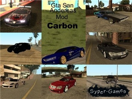 GTA: San Andreas mod Carbon (2008/ENG/PC)