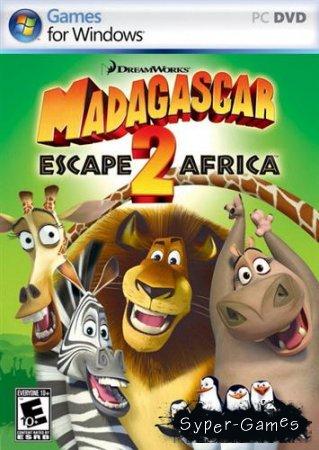 Мадагаскар 2 / Madagascar: Escape 2 Africa (Rus/2008/1C)