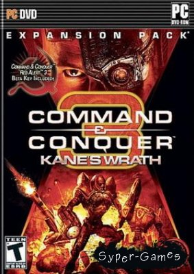 Command And Conquer 3 Ярость каина version 1.02 (2009/RUS/repack)