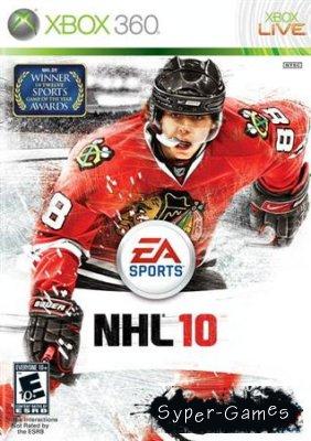 NHL 10 (2009/RUS/ENG/XBOX360/PAL)