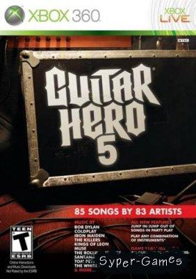 Guitar Hero 5 (2009/ENG/MULTI5/XBOX360)