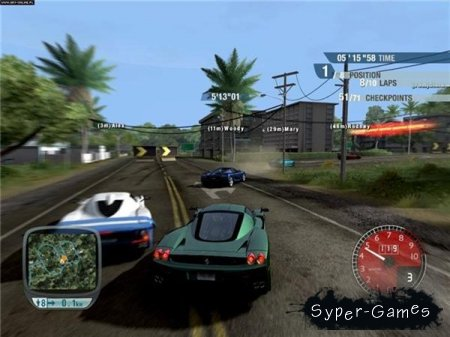 Test Drive Unlimited GOLD (2008/RUS/RePack/PC)