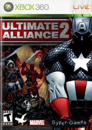 Marvel: Ultimate Alliance 2 (2009/RF/RUS/XBOX360)