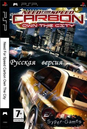 Need for Speed Carbon Own the City (2006/RUS) PSP