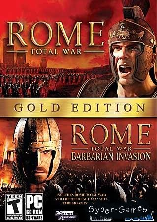 Rome: Total War - Gold Edition (PC/RePack/RU)