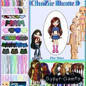 bratz flash игра:
