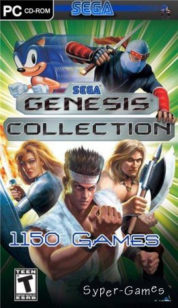Sega Genesis Collection 1150 игр + эмулятор (2009/PC)