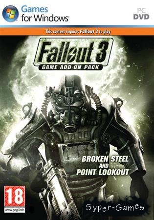 Fallout 3: Broken Steel and Point Lookout (2010/RUS/1C/Add-on)