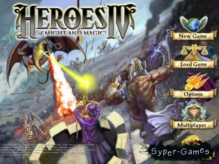 Heroes of Might and Magic IV / ����� ���� � ����� 4 (2003/Rus)
