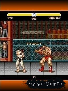 Java игра на мобильный: Street Fighter II: The World Warrior / Хулиган II: Мировой Воин