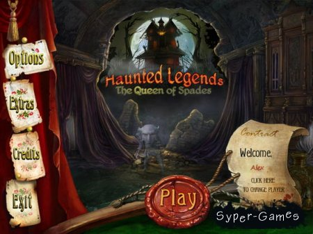 Haunted Legends: The Queen of Spades