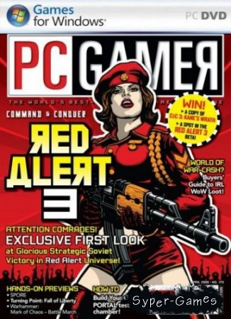 Command & Conquer: Red Alert 3 (2008/Multi4/Full RIP by Skullptura)