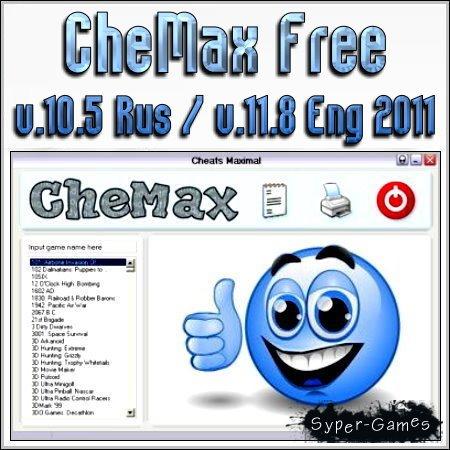 CheMax Free v.10.5 Rus / v.11.8 Eng 2011