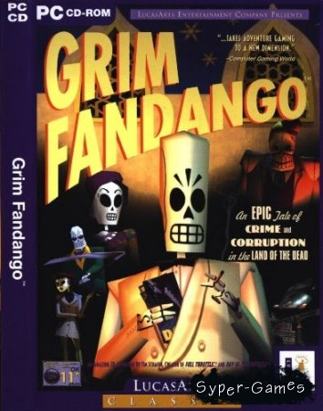 Grim Fandango (ENG + RUS)