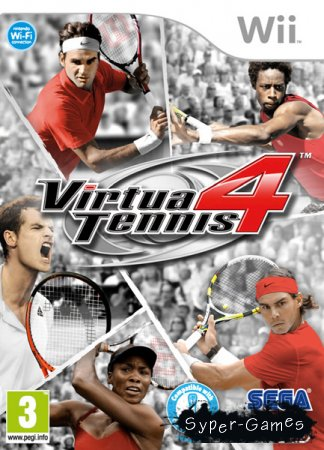 Virtua Tennis 4 (2011/Wii/MULTI5)