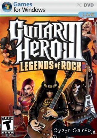 Guitar Hero 3: Легенды Рока/Gutar Hero 3: Legends Of Rock (2008/Eng/PC) Repack by PUNISHER