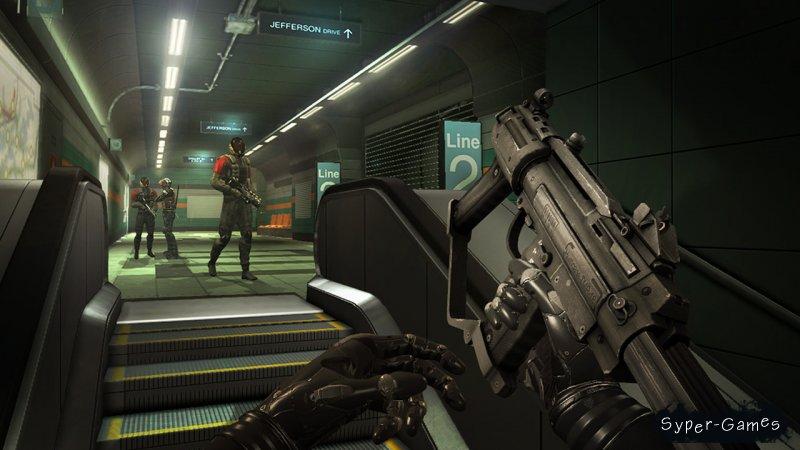 Игру Deus Ex Human