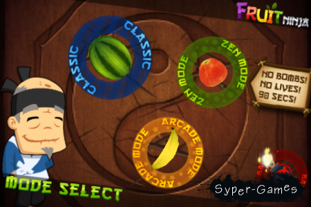 Fruit Ninja HD v1.6.1 - полная версия