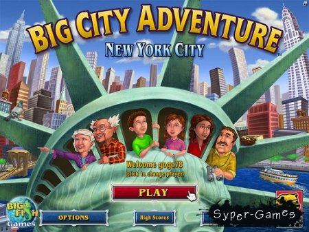 Big City Adventure - New York City (2009/Eng)