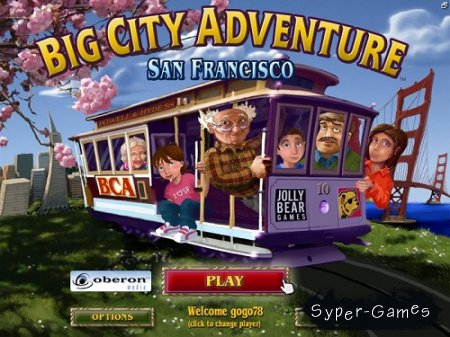 Big City Adventure - San Francisco (2009/Eng)