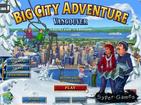 Big City Adventure - Vancouver. Collector's Edition (2010/Eng)