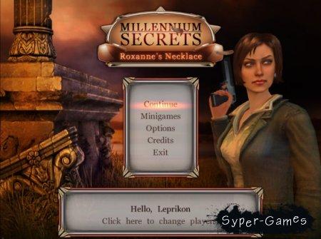 Millennium Secrets 2: Roxanne's Necklace / Секреты Тысячелетия 2: Ожерелье Роксаны (2011/Final)