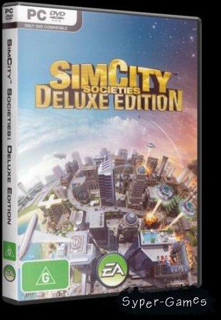 SimCity: Город с характером + Туристический рай / SimCity Societies Deluxe Edition (2008/RUS/ENG/Lossless RePack от R.G.Catalyst)
