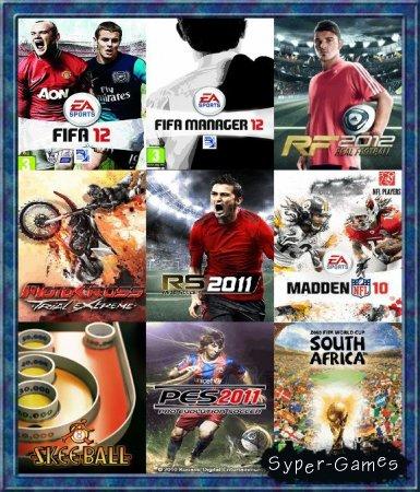 Сборник спортивных java-игр на мобильник