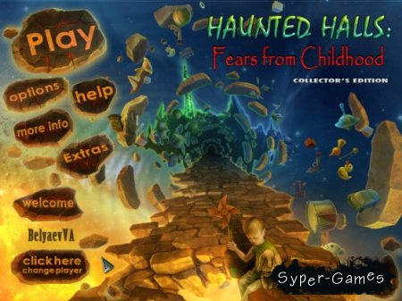 Haunted Halls: Fears from Childhood - Collectors Edition (2011)
