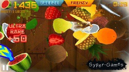 Fruit Ninja (Symbian^3/2011/ENG)