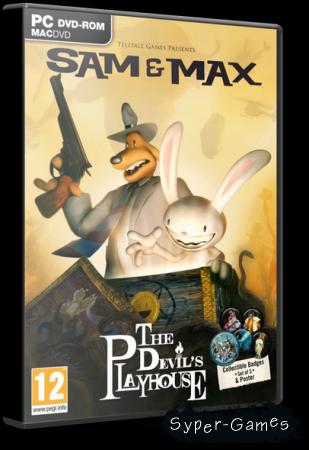 Sam & Max: The Devil's Playhouse. Эпизод 2 / Гробница Сэммун-Мака (2011/RUS)
