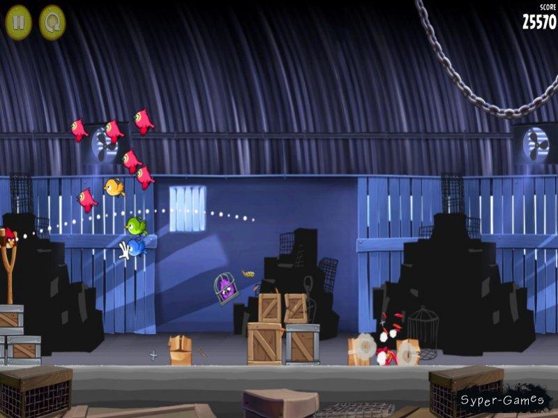 Игра Злые птицы: Рио (Angry Birds Rio) совсем не претендует на наличие в не