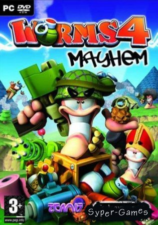 Worms 4: Mayhem / Червячки 4 Погром (Repack/2005)