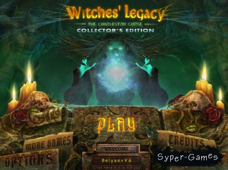 Witches' Legacy: The Charleston Curse - Collector's Edition (2012)