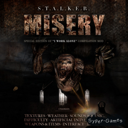 S.T.A.L.K.E.R.: Call of Pripyat - MISERY (2012/ENG/RUS/PC)