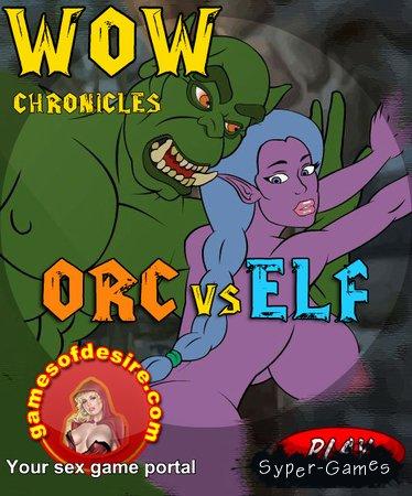 Хроники мира ВарКрафт: Орк против Эльфийки / WOW Chronicles: Orc vs Elf