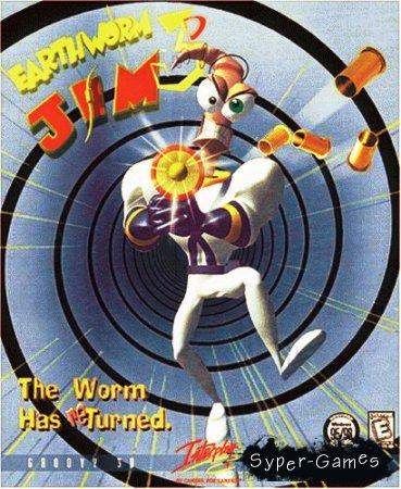 Earthworm Jim 3D (2000/ENG+RUS)