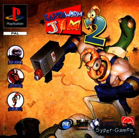 EarthWorm Jim 2 (1994/RUS)