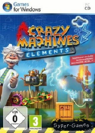 Crazy Machines: Elements + DLC's [2011, Multi5, L (Steam-Rip)] от R.G. Игроманы