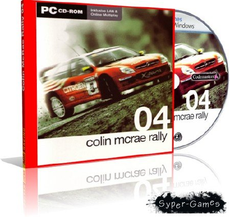 Colin Mcrae Rally 04 (2004/Rus/Eng)