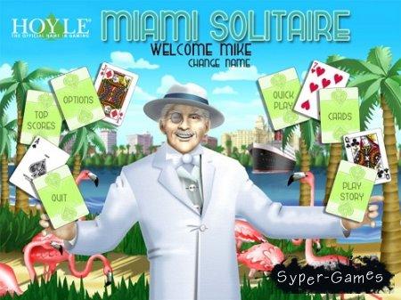 Hoyle Miami Solitaire (2012/ENG)