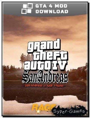 GTA IV San Andreas BETA 3 World Enhancement Mod (2012) PC