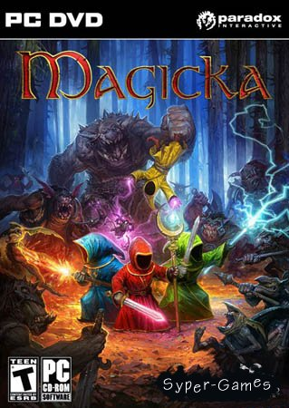 Magicka (PC/Steam-Rip Игроманы/RU/RU)