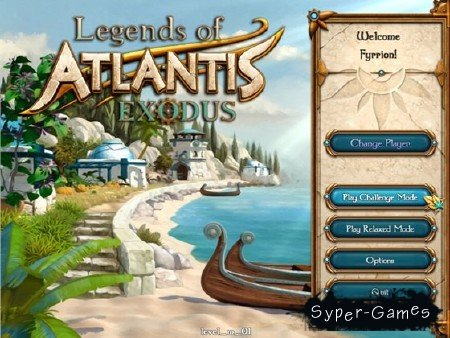 Legends of Atlantis: Exodus / Легенды об Атлантиде: Исход v.1.0 (2012/RUS/RUS)