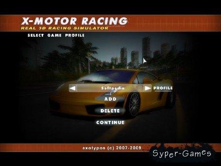 X-Motor Racing 1.39 (2012/ENG/ENG/Demo)