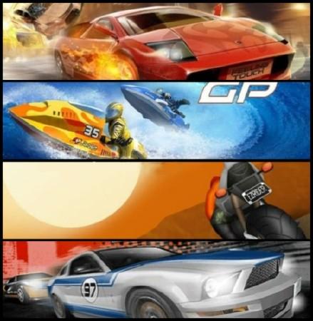 Сборник гонок на мобильный (2012/Eng)