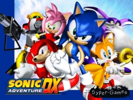 Sonic Adventure DX (Русский/Лицензия)