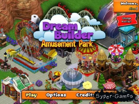 Мечта строителя: парк развлечений / Dream Builder: Amusement Park (2012/Eng)