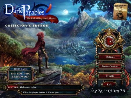 Dark Parables 4: The Red Riding Hood Sisters Collectors Edition (2012/Eng)