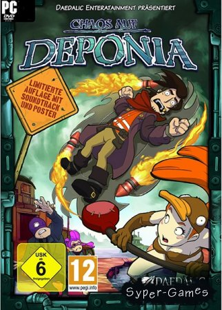 Chaos on Deponia (2012/GER)